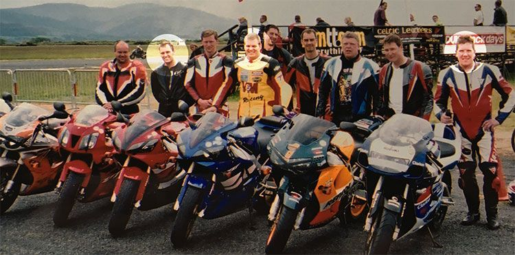 2001 TT with David Jefferies